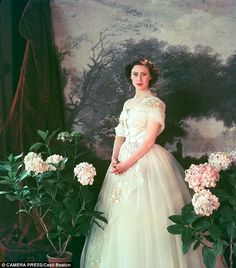 Princess Margaret  | WOMAN IN DIOR: PORTRAITS OF ELEGANCE by Laurence Benaim