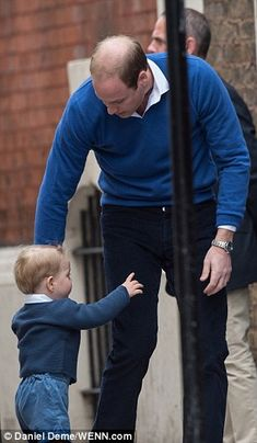 It was Prince George Alexander Louis who stole the royal show on Saturday, when he turned up to St Mary's Hospital in Paddington, London, to say hello to his baby sister for the first time. Duke And Duchess, Duchess Of Cambridge, Kate Middleton, Baby Prince, Prince Harry, The Royal Show, Princesa Charlotte, Prince George Alexander Louis, Prince William And Catherine
