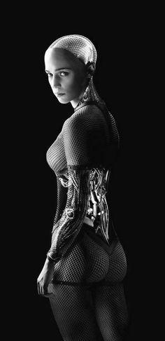 Ex Machina cyborg robot AI