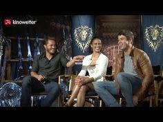 Warcraft Interview - Travis Fimmel, Paula Patton & Toby Kebbell - YouTube