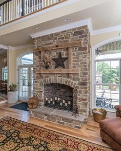 Eldorado Stone - Imagine - Inspiration Gallery - Residential - Fireplaces Orchard Cypress Ridge
