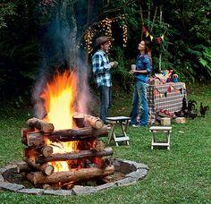 Festa junina no campo merece uma fogueira!