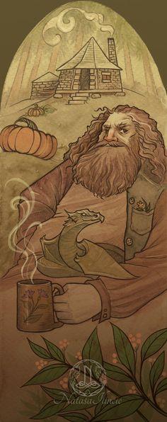 Hagrid by UnripeHamadryad on DeviantArt