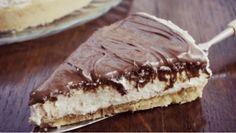 Torta Nutella e Mascarpone senza cottura in forno. Pronta in 10 minuti Ricotta, Cake Mascarpone, Cheesecake, Summer Kitchen, Dessert Recipes, Desserts, Italian Recipes, Yogurt, Food And Drink