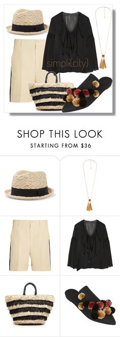 """Untitled #1336"" by sugarmoonmama ❤ liked on Polyvore featuring Iris & Ink, Violeta by Mango, Gucci, Roberto Cavalli, Kayu and Sanayi 313"