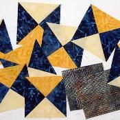 Mystery Quilt 2013 Clue #2 - via @Craftsy