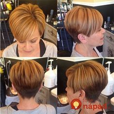 New Short Haircuts for Older Women with Fine Hair - The UnderCut Hair Cuts For Over 50, Short Hair Cuts For Women, Short Layered Haircuts, Cool Short Hairstyles, Edgy Haircuts, Haircut Short, Fashion Hairstyles, Pixie Hairstyles, Short Hair Trends