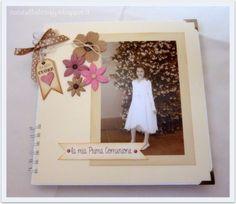 Album prima comunione Album, Guestbook, Frame, Ideas, Scrapbooking, Decor, Picture Frame, Decoration, Scrapbooks