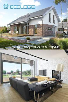 Drewniany dom prefabrykowany I1Q11 116mkw Ecologiq #architecture #design #modernarchitecture #dreamhome #home #house #energysavinghouse #modernhome #modernhouse #moderndesign #homedesign #lifestyle #interiors #homeproject #houseproject #ecohouse #ecohome #ecologicalhouse #ecologiq #domyenergooszczedne #nowoczesny #skandynawski #dommarzen #dom #domniskoenergetyczny #domprefabrykowany #domzprefabrykatów #domzdrewna #domdrewniany #domekologiczny #projektydomowdrewnianych #domyszkieletowe Energy Efficient Homes, Interior S, Home Projects, Zen, House, Outdoor Decor, Home Decor, Decoration Home, Home