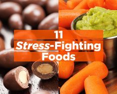 The Pinterest 100: Fitness & Health.    Women's Health's 11 stress-fighting foods via Livestrong.
