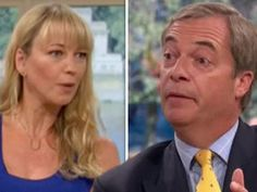 ITV THIS MORNING welcomed Nigel Farage onto the show today to explain what Brexit means for the country to former Love Island star Hayley Hughes. Nigel Farage, Love Island, Tv On The Radio, Stars, Country, News, Rural Area, Star, Country Music
