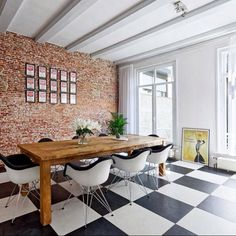 Dining room / ACH138 - from Inside Amsterdam Canal Houses