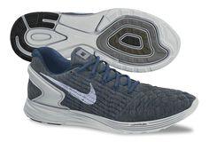 e87775e0433a2 Nike Flyknit LunarGlide 6 Obsidian Silver Pure Platinum Flyknit Lunar