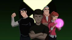Ben 10 Ultimate Alien Team Generator Rex Style by Ben 10 Omniverse, The Dog Star, Heroes United, Generator Rex, Ben 10 Ultimate Alien, Ben Tennyson, Ben 10 Alien Force, Disney Shows, Favorite Cartoon Character