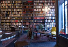 Merci - used book cafe - Paris