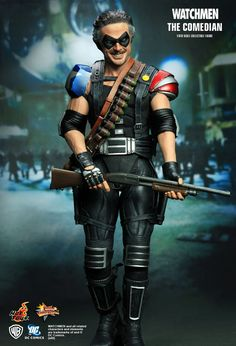 Hot Toys : Watchmen - The Comedian 1/6th scale collectible figure