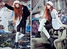 Lookbook.nu User Cosette Munch is Ablaze in These Inner-City Stills #Pop culture trendhunter.com
