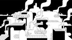 Nicolas Menard - Late Night Work Club Research Illustration Drawing 003