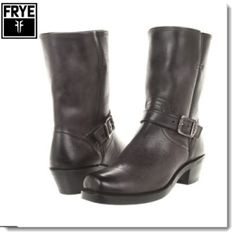 Frye Harness Strap 8R Boots