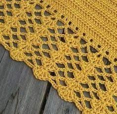 Crochet Afghan For Boys 57 Best Ideas Crochet Afghans, Baby Blanket Crochet, Hand Crochet, Crochet Lace, Crochet Hooks, Crochet Edges For Blankets, Crochet Edgings, Crochet Border Patterns, Crochet Boarders
