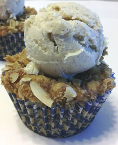 Huckleberry Crumble Cupcakes - Ugly, but delicious!  by Booze, Sugar & Spice