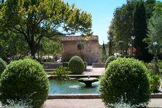Beautiful Hotel Oustau de Baumaniere in Les Baux de Provence.