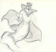 Disney Concept Art - King Triton