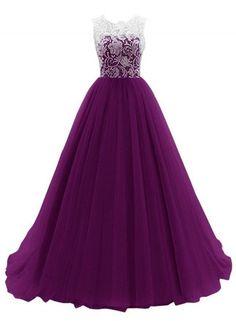 Lace Paneled Slim Fit Prom Dress OASAP.com