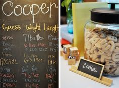 Alphabet cookies.  Another winner.  ABC Storybook Baby Shower - Kara's Party Ideas - The Place for All Things Party