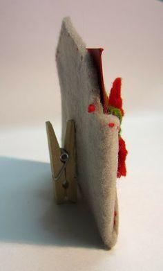 Segnaposto per la tavola di Natale Felt Crafts, Paper Crafts, Dyi, Christmas Decorations, Christmas Ornaments, Crafty Craft, Xmas Cards, Holiday Crafts, Merry Christmas