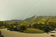 Adachi Museum, Golf Courses, Japanese, River, Garden, Outdoor, Outdoors, Garten, Japanese Language