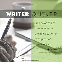 How to Wake Up and Write 500 Words a Day: 5 Tips to Make It Happen - Communicator Academy Make It Happen, Word Of The Day, Wake Up, Writer, Shit Happens, Words, Tips, How To Make, Advice