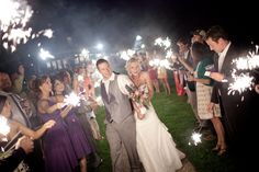 Another gorgeous escape photo! By Imago Photography #sparklers