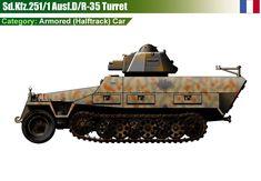 Sd.Kfz.251/1 Ausf/D - R-35