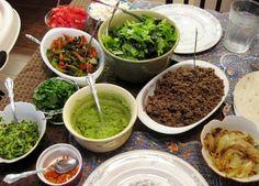 taco salad smorgasbord