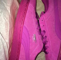 7d594b034241da Rocking Pumas like they Red Bottoms Pink Puma Sneakers