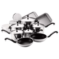 Farberware Classic Stainless Steel 17-piece Cookware Set With $20 Mail-In Rebate