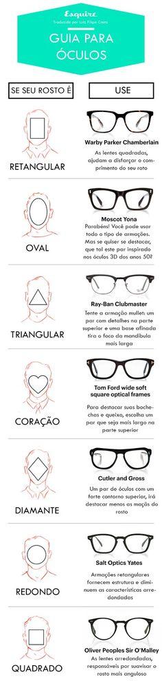 Encontrar os óculos certos que se adequem ao rosto nem sempre é uma tarefa fácil. Felizmente, existem algumas orientações simples para identificar a forma geral do seu rosto e os tipos de armação que melhor se encaixam.