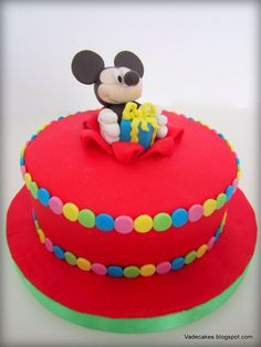Mickey Cake by Vadecakes