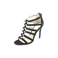 Coach Laila Womens Size 8 Black Suede Dress Sandals Shoes -- Continue to the product at the image link.