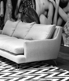 New Montauk sofa in profile at IDS14 Toronto Montauk Sofa, Sofa Inspiration, Modern Sofa, Toronto, Living Spaces, Profile, Couch, Furniture, Products