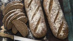 Matpakkebrød: Hjemmelaget brød til matpakke
