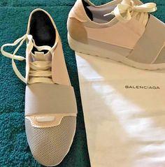 Balenciaga Race Runner Sneakers Shoes Men's 8 (41) #Balenciaga #AthleticSneakers