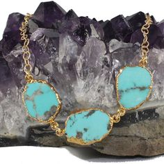 Natural Turquoise Necklace