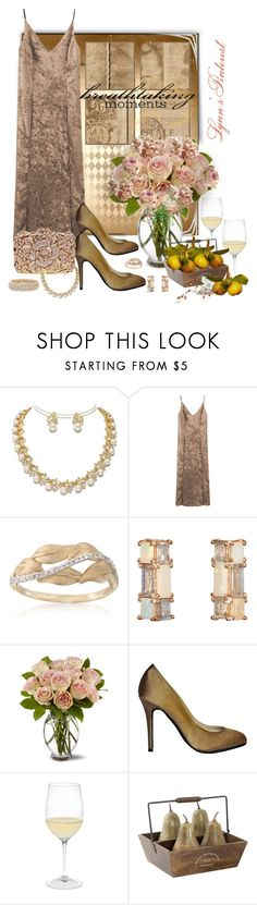 """""""Velvet Style 2 -  #4434"""" by lynnspinterest ❤ liked on Polyvore featuring Ross-Simons, Nak Armstrong, Riedel, Alexander McQueen, Pixie, Uttermost and Van Cleef & Arpels"""