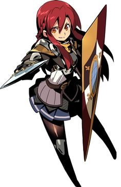 Paladin guard : Etrian Odyssey: Millenium Girl - Character Details and Arts