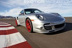 Porsche 997 Turbo S at Exotics Racing in Las Vegas
