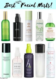 Best Hydrating Facial Mists; not just for summer!