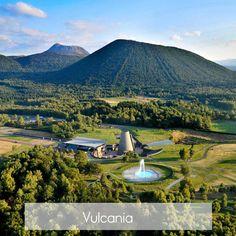 Vulcania en Auvergne (France)