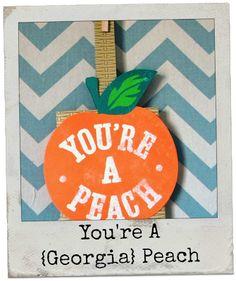 You're a {Georgia} Peach